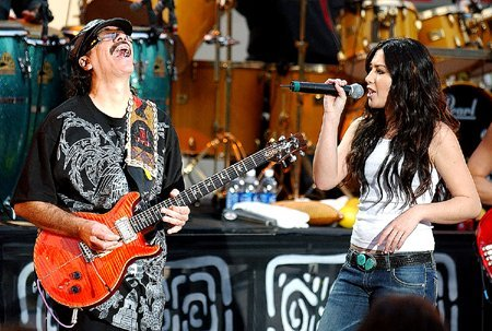 Santana - The Game Of Love - YouTube