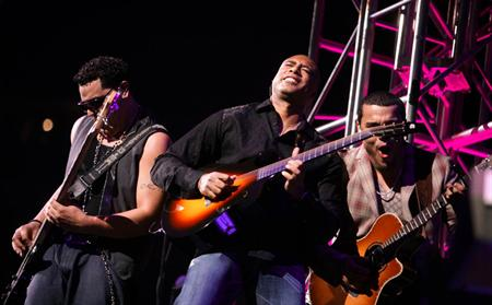 Bernie Williams With Aventura Pollstar
