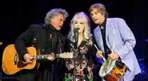 Marty Stuart, Dolly Parton and Harry Stinson