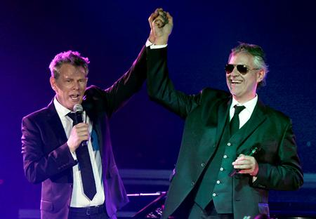 Andrea Bocelli And David Foster Pollstar