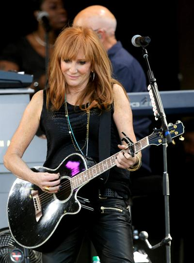 Patti Scialfa With Bruce Springsteen Amp The E Street Band