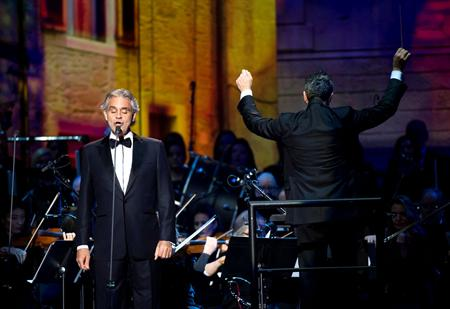 Pollstar Andrea Bocelli Lines Up Winter Dates